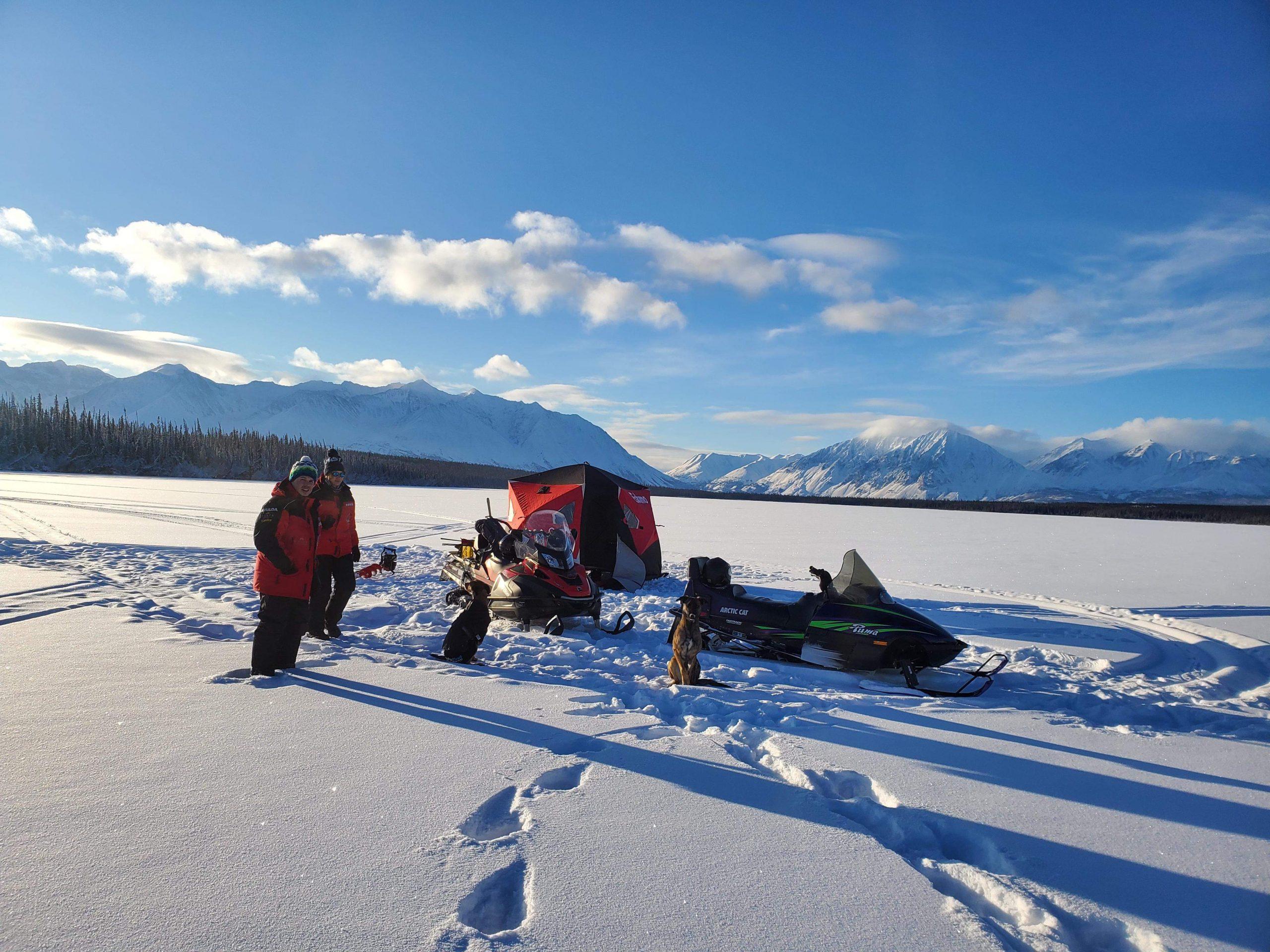 Snowmobile Tour Yukon - ultimate winter fun adventure
