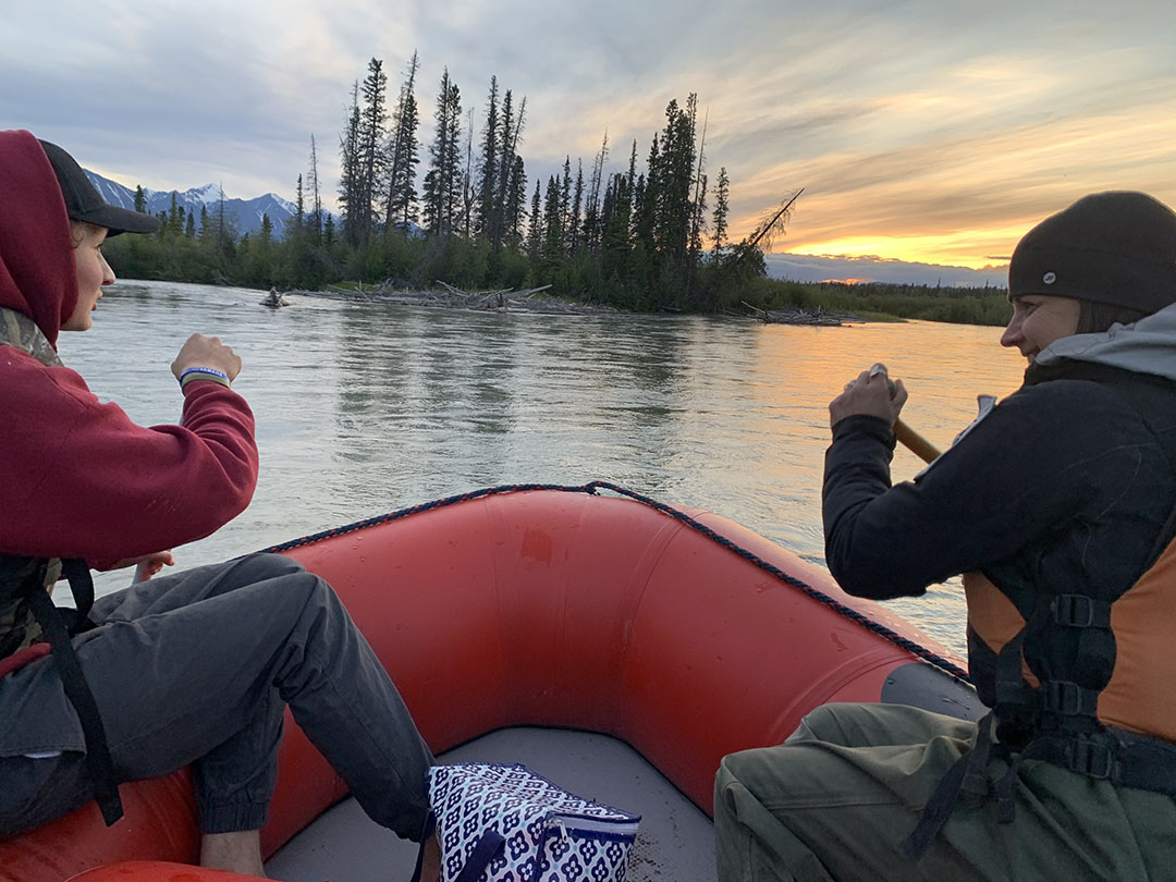 Rafting with Yukon Guided Adventures